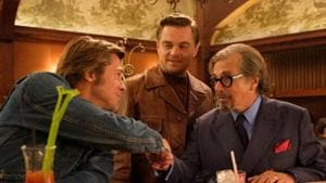 Once Upon A Time In Hollywood stars Brad Pitt, Leonardo DiCaprio and Al Pacino in prominent roles.