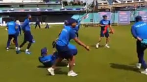Yuzvendra Chahal explains unique practice drill for Team India - Watch