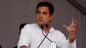 Congress National President Rahul Gandhi(Deepak Sansta / HT Photo)