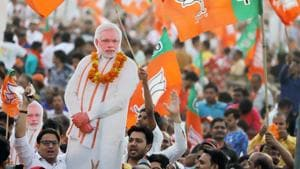 Narendra Modi projected continuity with a strong anti-establishment flavour