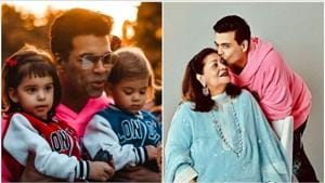 Happy Birthday Karan Johar: Check out his 10 best pics with twins Yash, Roohi and mom  Hiroo