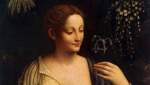 Painting by Leonardo da Vinci's favourite pupil Francesco Melzi on display in London