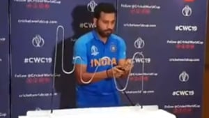 ICC World Cup 2019: Rohit Sharma takes the steady hand challenge - Watch
