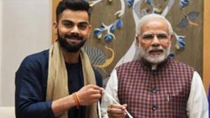 Prime Minister Narendra Modi gets congratulatory message from India captain Virat Kohli