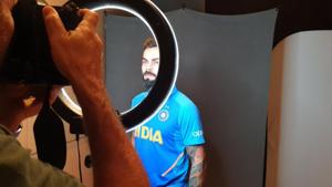 ICC World Cup 2019: Virat Kohli & Co pose for headshots - See Pictures