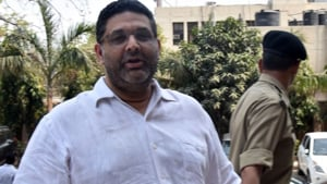 The agency also submitted in a sealed cover the statement of Saxena, some diaries that purportedly contain names and details of the money trail, case documents and statements of witnesses.(HT Photo)