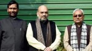 The NDA's victory on seats with 40 per cent, or even more, minority voters also drove indicate that the minority communities are not averse to the BJP and its allies in Bihar.(PTI)