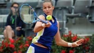 Karolina Pliskova hopes hitting with Simona Halep will pay off