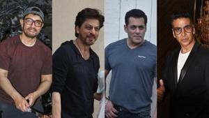 Salman Khan has said he, Shah Rukh Khan, Aamir Khan and Akshay Kumar have pulled off stardom for a long time.(IANS/PTI/AFP)