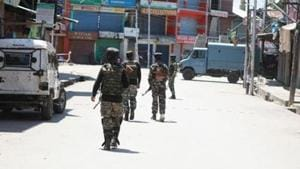 The police said that it was a clean operation and no collateral damage took place during the exchange of fire. (Image used for representational purpose).(HT PHOTO)