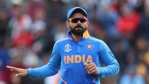 India's Virat Kohli reacts(Action Images via Reuters)