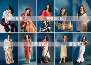 Modern-day blouses have gone beyond the sari (Styling by Jahnvi Bansal; Art direction: Amit Malik; Make-up and hair: Artistry by Anjali Jain; Model: Priya Jain, Feat. Artists)(shivamm Paathak)