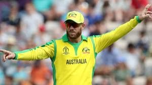 Australia's David Warner, shown in a file photo, is in doubt for his side's World Cup opener against Afghanistan with a leg injury.(Action Images via Reuters)