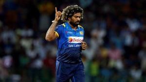 FILE PHOTO: Cricket - Sri Lanka v India - Fifth One Day International Match - Colombo, Sri Lanka - September 3, 2017 - Sri Lanka's Lasith Malinga celebrates after taking a wicket.(REUTERS)