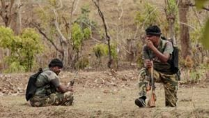 A central police force personnel was killed while four others injured by suspected Maoists at Kathalia village in Jharkhand's Dumka district on Sunday.(Hindustan Times)