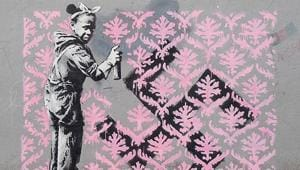 Despite years in the international spotlight as he became one of the most famous artists of his generation, remarkably little is known about Banksy.(banksy/Instagram)