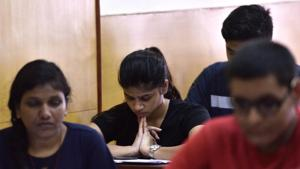 The results of EAMCET were declared at Andhra Pradesh State Council of Higher Education (APSCHE) office at Tadepalli in Amaravati on Tuesday.(Anshuman Poyrekar/HT file)