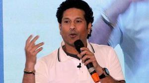 File image of Sachin Tendulkar.(ANI)