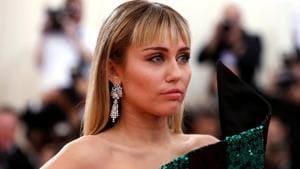 Miley Cyrus at the 2019 Met Gala.(REUTERS)