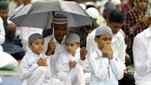 The sacred items are displayed in the mosque on the occasion of Eid and Eid-ul-Azha.(Rahul Raut/HT Photo/Representative Image)
