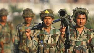 The firefight was triggered after the army and J&K police launched a joint operation following a specific information about militant presence in the area.(AP Photo)