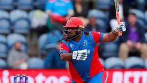 ICC Cricket World Cup - Afghanistan v Sri Lanka - Cardiff Wales Stadium, Cardiff, Britain - June 4, 2019 Afghanistan's Mohammad Shahzad in action Action Images via Reuters/Andrew Couldridge/File Photo(Action Images via Reuters)