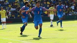 India beat Thailand in the King's Cup encounter.(AIFF)