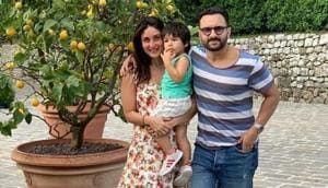 Saif Ali Khan and Kareena Kapoor are on a vacation in Italy with son Taimur.(Instagram)