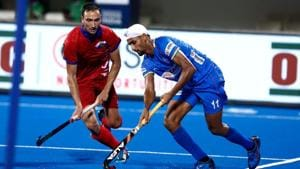 Akashdeep Singh slams hat-trick as India rout Uzbekistan 10-0 in FIH Series Finals