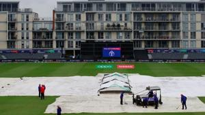 Sri Lanka's World Cup match against Bangladesh was abandoned without a ball being bowled due to rain in Bristol on Tuesday.(Action Images via Reuters)