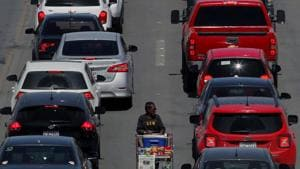 Photographs were taken of travelers in vehicles entering and exiting the United States at a single land-border port of entry through Automated license-plate readers(AFP File Photo / Representative image)