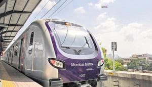 """The Maha Mumbai Metro Operation Corporation Limited (MMOCL) will carry out the """"business and operation"""" of the upcoming 13 Metro corridors in the Mumbai Metropolitan Region (MMR).(HT file)"""