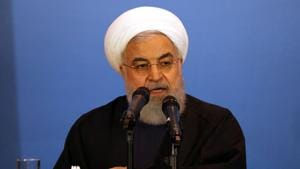 Rouhani stated this, at a meeting of the Shanghai Cooperation Organisation, a Eurasian security alliance that includes China, India and Russia.(Reuters File Photo)