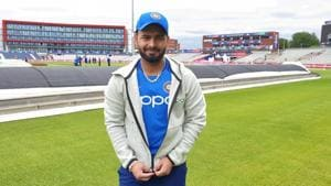 Rishab Pant in Manchester ahead of India vs Pakistan ICC World Cup 2019(BCCI)