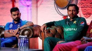 File image of Virat Kohli, Sarfaraz Ahmed(Action Images)