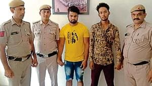 Two siblings were allegedly caught red-handed from a guest house in south Delhi's Safdarajung Enclave while trying to flee with laptops and cameras by hoodwinking the delivery boy, police said.(Delhi Police)