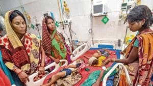 JE cases have dropped drastically since India started vaccinating at-risk populations against the disease in 2006.(HT Photo)