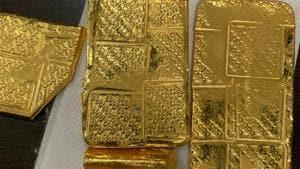 32-kg gold bars worth ₹10 crore seized at Mumbai airport; 7 held