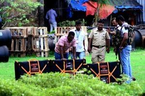 Police probe suspected IED found near Mumbai