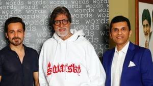 Chehre stars Amitabh Bachchan and Emraan Hashmi in lead roles.(Twitter)