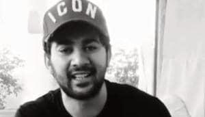Karan Deol shared a video of himself on World Music Day.