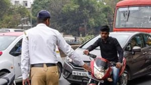 A traffic inspector, requesting anonymity, dismissed the altercation as a personal matter.(HT Photo)
