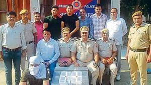 Delhi Police on Sunday arrested a man for the murder of visually impaired music teacher and his wife in Uttam Nagar.(HT Photo)