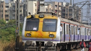 The dangerous structures were identified in a joint inspection of railway tracks conducted by CR which had engineers from the BMC and Maharashtra Housing and Area Development Authority (Mhada).(HT Photo)