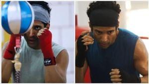 Farhan Akhtar is training hard for Toofan.