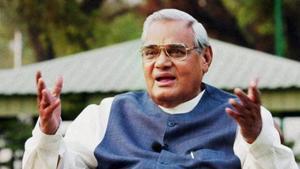 File photo of former PM Atal Bihari Vajpayee.(PTI)