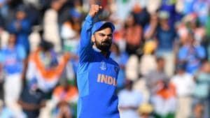 India's captain Virat Kohli(AFP)