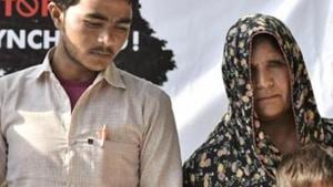 Pehlu Khan's family said it was disappointed after learning that Rajasthan cops had filed a chargesheet against him . They said they had expected justice from the Congress government.(PTI FILE)