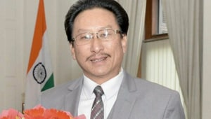 """Speaking to HT, Kenye said though his party supports the centre's initiative for ending the protracted conflict in Nagaland; the """"grey area"""" of being kept in the dark about the contents of the accord are now prevailing over.(HT Photo)"""