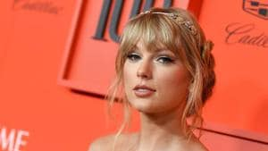 Taylor Swift has written a Tumblr post about Scooter Braun.(AFP)